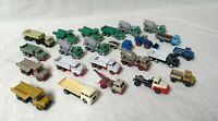 23 Stück H0 Baufahrzeuge viele von Wiking teilweise schon 40 Jahre alt