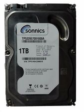 "Sonnics 1TB 3.5"" INCH SATA INTERNAL HARD DISK DRIVE 7200RPM PC CCTV DVR"