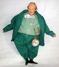 THE WIZARD OF OZ MUNCHKIN MAYOR DOLL POCKET WATCH NO PAPER TAG