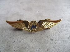vintage closed in 1997 Mahalo Air Airlines Stewardess Wings Pin US Hawaii 3