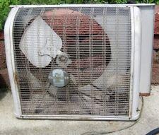 Vintage HOMART COOLER ELECTRIC WINDOW FAN Sears & Roebuck Co USA Works