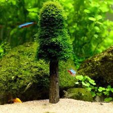 Simulation Xmas Moss Christmas Tree Plant Grow Aquarium Tank Landscape Decor New