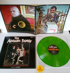 Addams Family Original Music From TV Show Vinyl LP Record 500 Green Halloween