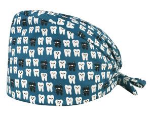 Unisex Nurse Odontology Hat Scrub Medical Doctor Clinic Dentist Teeth Dental Cap