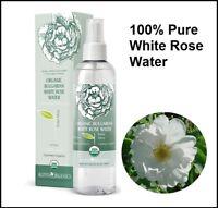 Organic Bulgarian White Rose Water ( Rosa Alba ) 100 ml Alteya