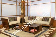 European Style Wooden Sofa Set  3 + 1 + 1 + Center table !!