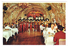 Vintage Chrome Postcard Cavern Cafe Nogales Sonora Mexico