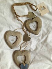 Hanging three hearts photo frame - gorgeous