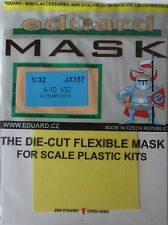 Eduard 1/32 JX157 Canopy Mask for the Trumpeter A-1D Skyraider kit