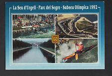 LA SEU D'URGELL (ESPAGNE) PARC del SEGRE parcourt OLIMPIQUE de CANOE KAYAK 1992