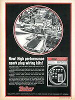 1971 Print Ad Mallory Ignition High Performance Spark Plug Wiring Kit Indy 500