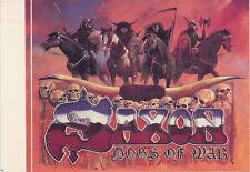SAXON DOGS OF WAR STICKER RARE