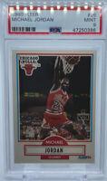 1990 - 1991 Fleer Michael Jordan Chicago Bulls #26 Basketball Card PSA 9