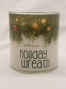 Gold Canyon Candle Holiday Wreath 14.5 Oz