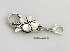 Flower Lobster Clasp Safety Lock for European Charm Bead Bracelet