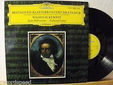 ★★ LP-Wilhelm Kempff-Beethoven-concerto pianoforte n. 5 Es-Dur-UK DG 138 777