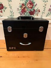 OPI Nail Polish Case Black Designer Manicure HTF No Polish Included Empty Case