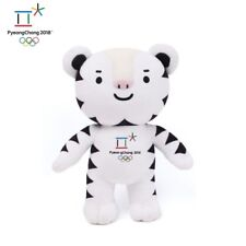 2018 PyeongChang Winter Olympic Official Games Mascot Soohorang Doll / Size 30cm