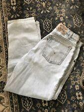 Mens Vtg 90s Levi 505 Loose Fit Light Denim Jeans Size 34 X 29 Mint Guess