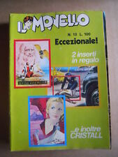 IL MONELLO n°13 1972 RAHAN + inserto A Sirene  + Figurine [G430]