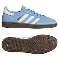 adidas ORIGINALS HANDBALL SPEZIAL TRAINERS LIGHT BLUE GUM SNEAKERS SHOES MEN'S