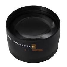 52mm de alta velocidad 2x Lente Telefoto Teleobjetivo para Nikon AF-DX Nikkor 18-55mm, AF S - 55-JF # E S