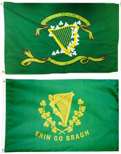 3x5 3'x5' Wholesale Combo Set Son's of Erin Irish & Erin Go Bragh 2 Flags Flag