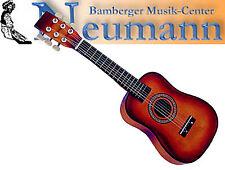 "Juguete Guitarra Rojo Cuerdas de Acero 25"" Largo 64cm Instrumento Infantil"