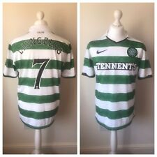 Celtic 2010-2012 Home Shirt LJUNGBERG #7 Size L