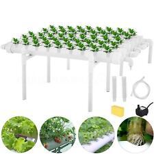 54 Site Hydroponic Planting Grow Kit Ebb Ladder System Vegetable Deep Water 220V