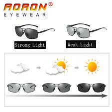 Brand Men Sunglasses Polarized Photochromic Eyewear Driving Car Driver Glasses