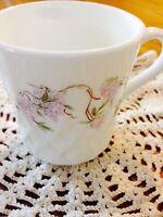 Corning Corelle Wisteria Tea Cup Mug Retired Replacement Swirl Dinnerware Coffee