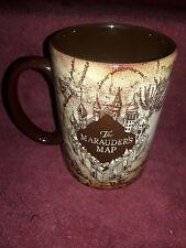 Wizarding World of Harry Potter Marauder's Map Ceramic Mug. Universal Studios