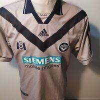 superbe Maillot GIRONDINS de BORDEAUX 2000/2001 gris vintage football adidas M