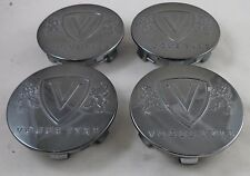 Vogue Wheels Gun Metal Custom Wheel Center Cap Set 4 # 503C03 / 89-9488