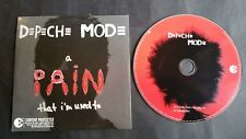 Depeche Mode A Pain That Im Used To 2 Track Card Sleeve CD CDBong36 Dave Gahan