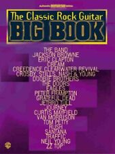 """""""THE CLASSIC ROCK GUITAR BIG BOOK"""" MUSIC BOOK-AUTHENTIC GUITAR TAB-NEW ON SALE!!"""