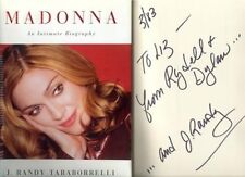 MADONNA AN INTIMATE BIO - HB, DJ, 1P - SIGNED BY AUTHOR