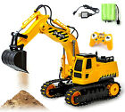 8 Channel RC Excavator Remote Control Construction Tractor Vehicle Digger Truck