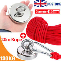 100KG//300KG Salvage Strong Magnet With 10M Rope Salvage Recovery Magnet