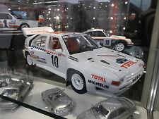 Citroen BX 4tc talla B rally Suecia WM 1986 Andruet 1/2000 Otto rar 1:18