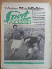 SPORT MAGAZIN KICKER 3-16.1. 1952 Aldhof-VfR Mannheim 2:2 Schalke-Düsseldorf 3:0