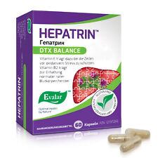 Evalar Hepatrin 60 Kapseln Leber Mariendistel Silymarin Butzenklette Antioxidant
