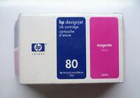Original HP 80 magenta C4847A 350ml DesignJet 1000 1050 1055 --- OVP 27/07/2006