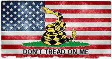 Gadsden American Flag sticker decal USA Flag Dont Tread on MeTruck car window C