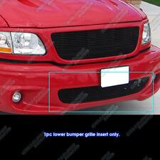 Fits 1999-2003 Ford F-150 Lightning Bumper Black Billet Grille 00 01 02