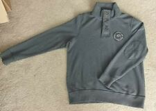FAT FACE GREY JUMPER PULLOVER EXCELLENT CONDITION SIZE LARGE 80% COTTON