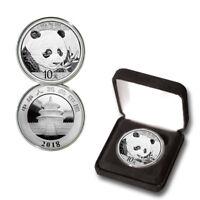 2018 Silver Chinese Panda 10 Yuan .999 30g BU