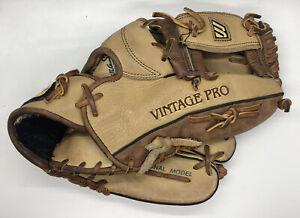 "Mizuno Vintage Pro MVP 1175 Professional Model Leather Glove RHT 11.75"" USED"