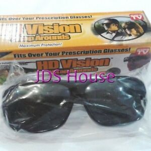 Day time Driving non Polarised HD Wrap Around Unisex Vision Glasses